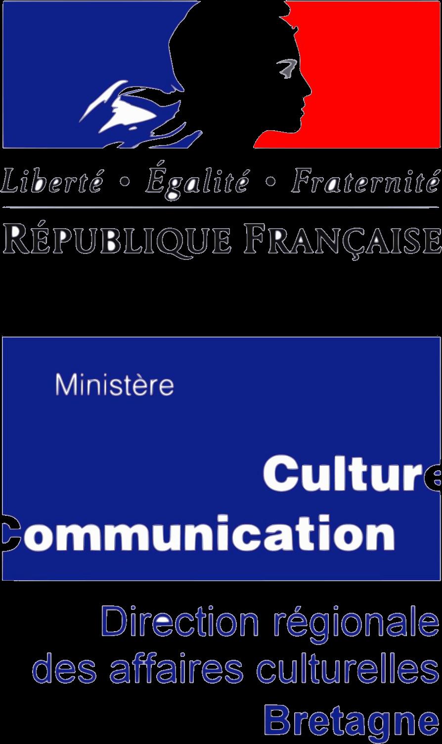 Logo Direction régionale des affaires culturelles Bretagne