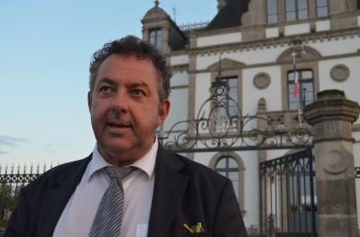 Patrick Le Diffon, maire de Ploermel