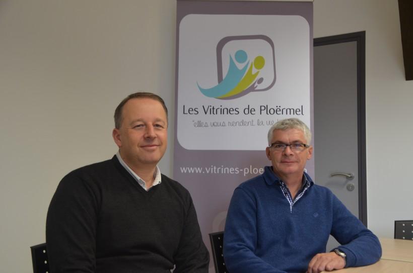 Eric Lerognon et Pascal Le Bel (de gauche à droite)