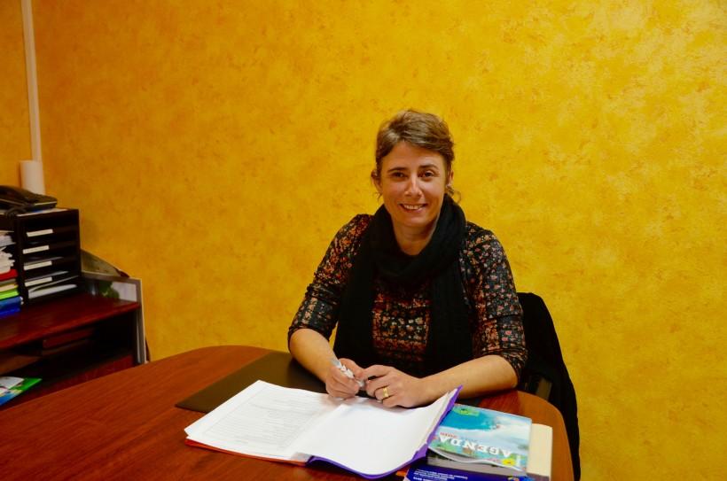 Florence Prunet, conseillère départementale