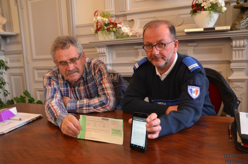 Jean-Claude Jumel, à gauche) et Nicolas Rivalan à droite