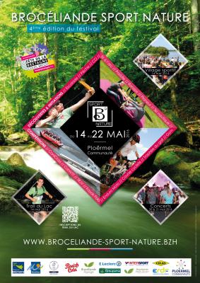 Affiche BrocÇliande Sport Nature 2016