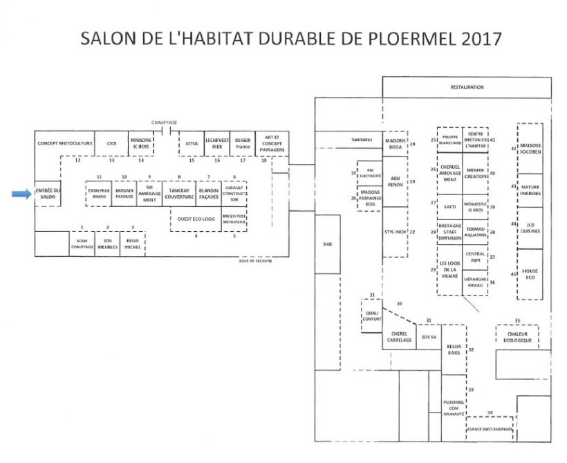 Pays de plo rmel ce week end salon de l 39 habitat mode d for Salon de l habitat 2017