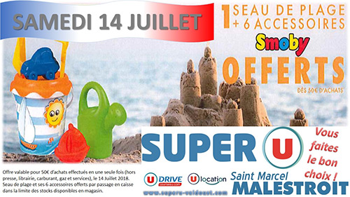 Super U, Saint-Marcel Malestroit