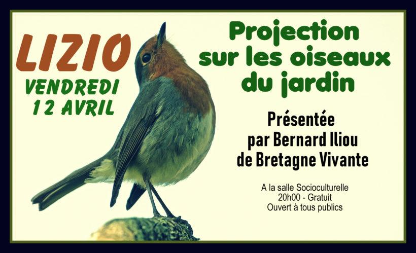 Flyer Conférence Oiseaux Lizio