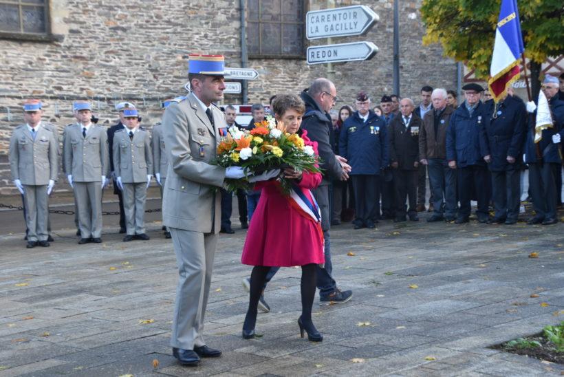 Guer. Commémoration: cérémonie matinale - Les Infos du Pays Gallo