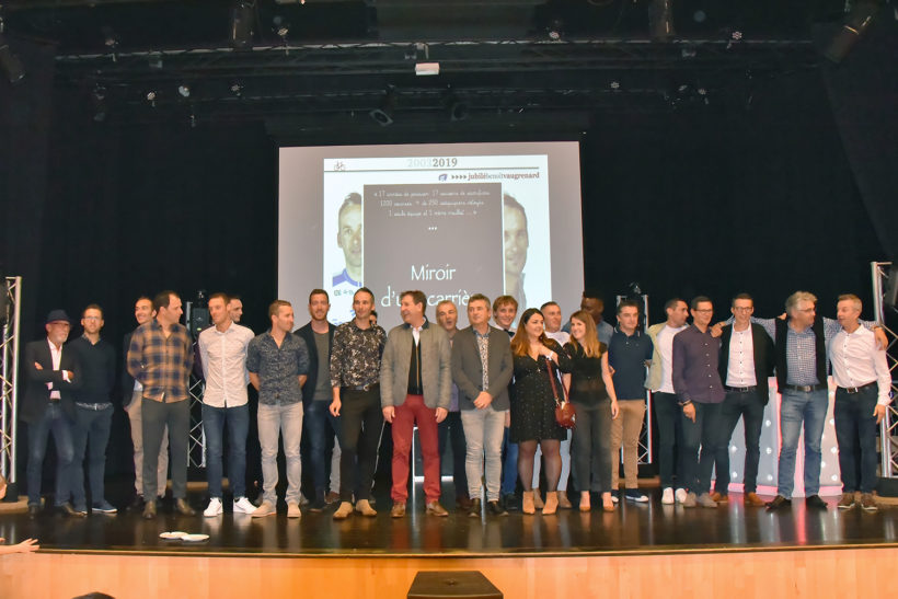 Groupama- FDJ et les amis de Benoit Vaugrenard
