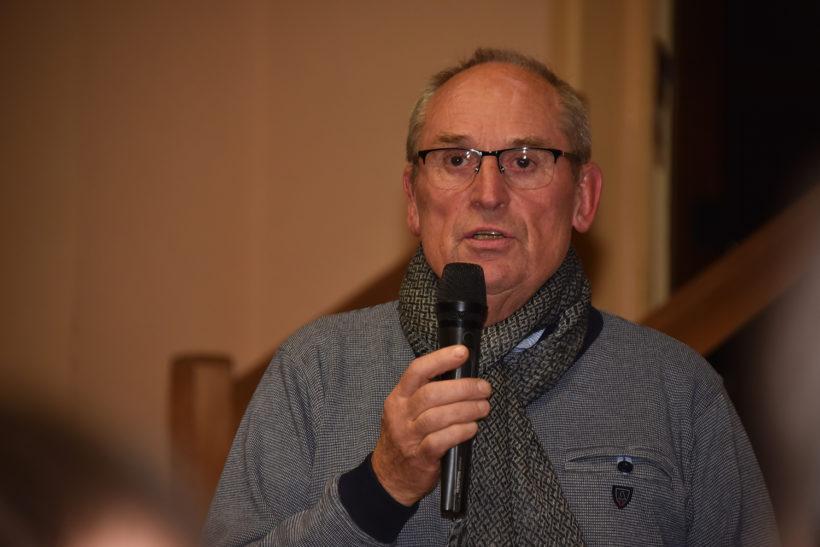 Hubert Gachet responsable de la rando pedestres